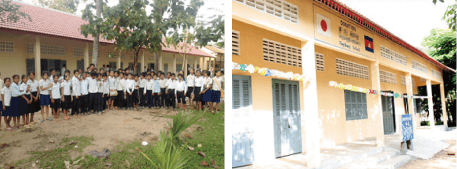 プレイクラン村の学校改築