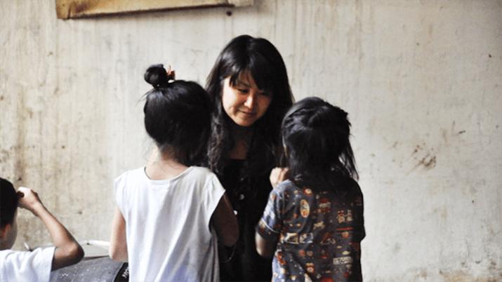 楠美和と子どもたち