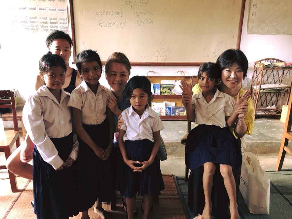 パパママさんが 我が子に会いにカンボジアへ。