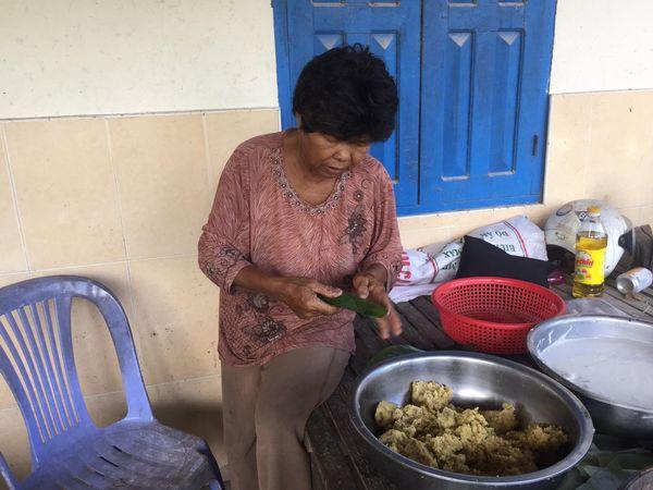 カンボジア伝統のお菓子